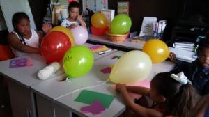balloons - los globos